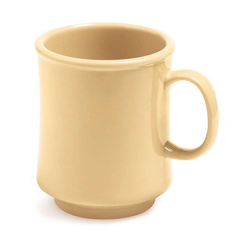 GET TM-1308-SQ 8-oz Stackable Plastic Mug, BPA Free Material, Squash