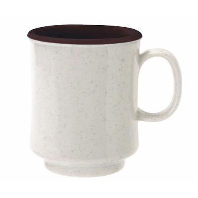 GET TM-1308-U 8-oz Plastic Mug / Cup, Stacking, Two-Tone