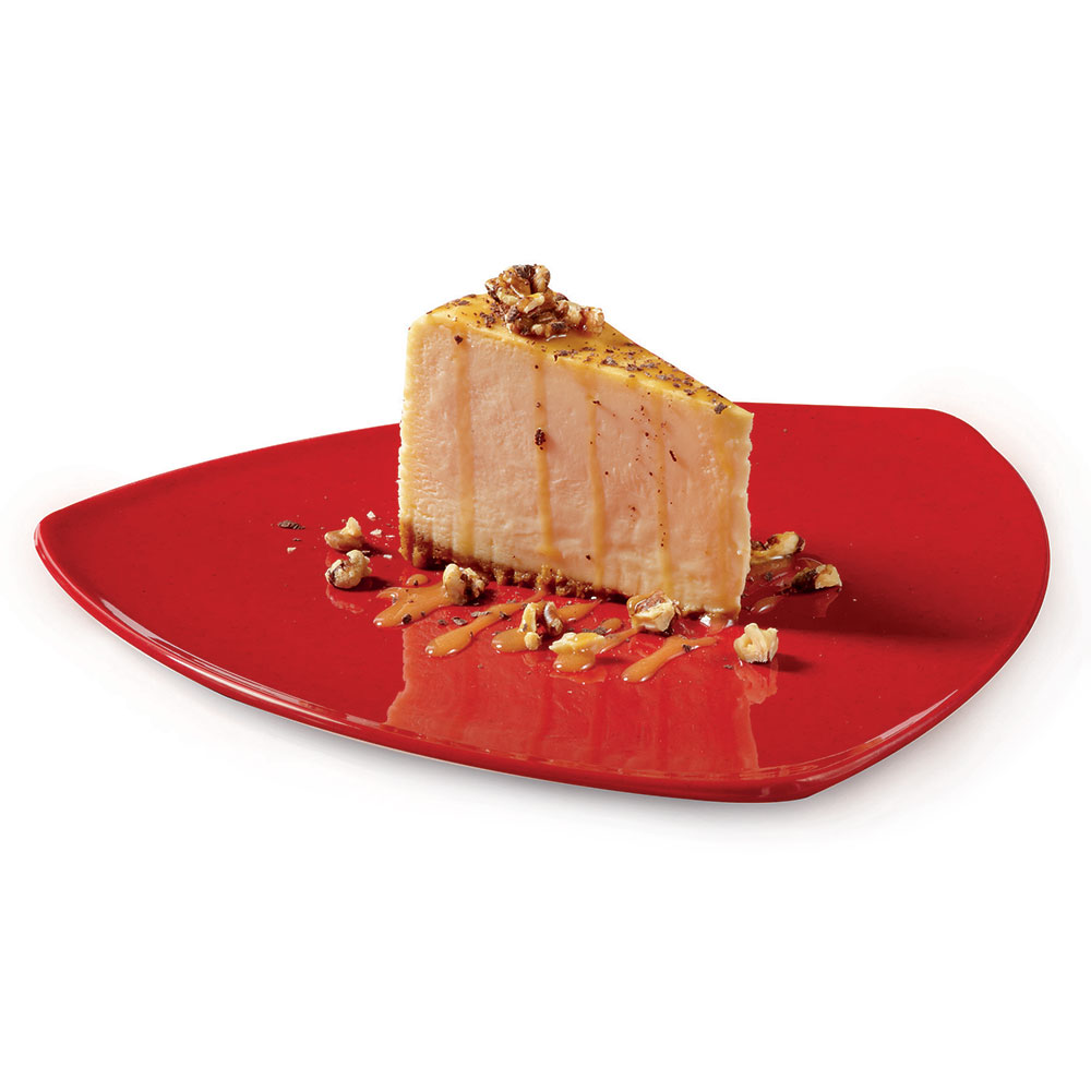 "GET TP-12-RSP 12""Triangle Plate, Melamine, Red Sensation"