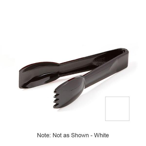 "GET UT-6-1-TRITAN-W 6"" Pom Tong, White Plastic"