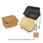 "GET WB-1510-H Designer Polyweave Basket, Rectangular, 9-1/4 x 13, 4 & 7"" Deep, Honey"