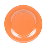 "GET WP-10-PK 10.5"" Melamine Plate w/ Wide Rim, Pumpkin"