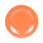 "GET WP-10-RO 10-1/2""Plate, Wide Rim, Melamine, Rio Orange"