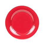 "GET WP-12-CR 12"" Melamine Plate w/ Wide Rim, Cranberry"