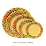 "GET WP-12-VN 12"" Venetian Melamine Plate w/ Wide Rim"