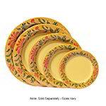"GET WP-6-VN 6.5"" Wide Rim Venetian Melamine Plate"