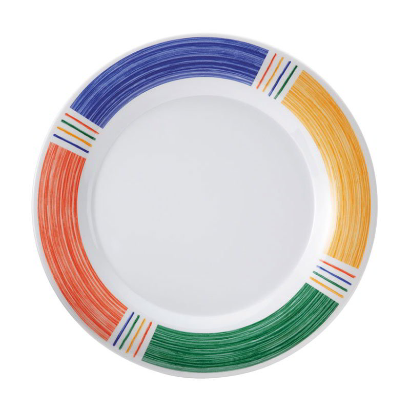 "Get WP-9-BA 9""Plate, Wide Rim, Melamine"