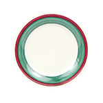 "GET WP-9-PO 9""Plate, Wide Rim, Melamine, Portofino"