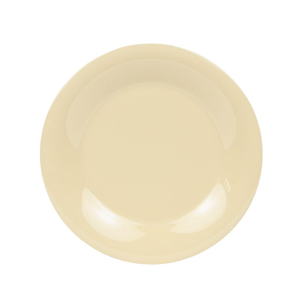 "GET WP-9-SQ 9"" Melamine Plate w/ Wide Rim, Squash"