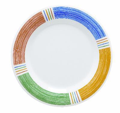 "Get WP-10-BA Plate, 10-1/2"" Wide Rim, Diamond Barcelona"