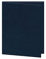 "Risch OM-2V8-1/2X14 BL Oakmont Menu Cover - Double-View, 8-1/2x14"" Blue"