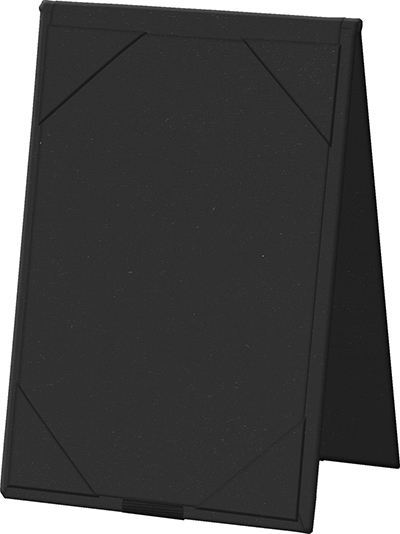 "Risch TENT5X7 BK Table Tent - Album-Style Corners, 5x7"" Black"