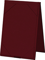 "Risch TENT8.5X11 WN Table Tent - Album-Style Corners, 8-1/2x11"" Wine"