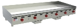 "Wolf AGM72 72"" Gas Griddle - Manual, 1"" Steel Plate, NG"