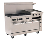 "Wolf C60SS-6B24GB 60"" 6-Burner Gas Range with Griddle & Broiler, NG"