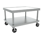 Wolf STAND/C-24 26-in Wide Equipment Stand w/ Marine Edge & Undershelf, Stainless