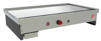 Wolf Range TYG60C LP 60-in Teppan Yaki Griddle w/ .75-in Thick Polished Steel Plate, LP