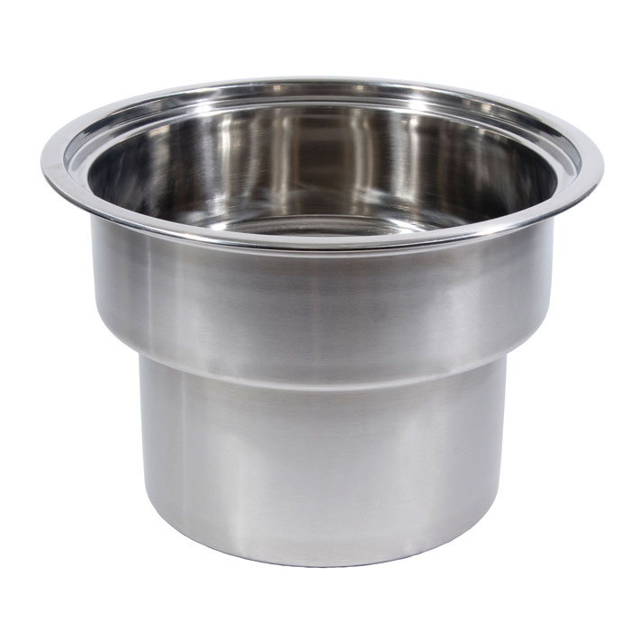 "Town 229012SP 18 qt Rangetop Stock Pot, Fits 12"" Chamber"