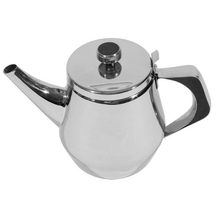Town 24138 38 oz Stainless Teapot, Gooseneck Spout, Built-In Tea Leaf Strainer