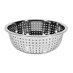 Town 31813 Chinese Style Colander w/ Large Perforations, Stainless, 13-1/2""