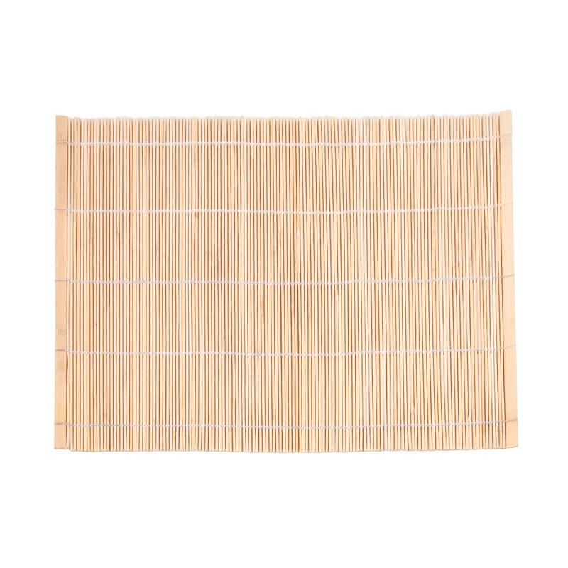 Town 34256 Natural Bamboo Sushi Mat, 9-1/2 X 9-1/2 in