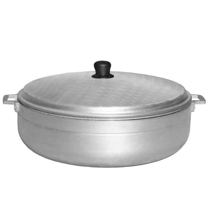 Town 34322 22.6-qt Aluminum Braising Pot