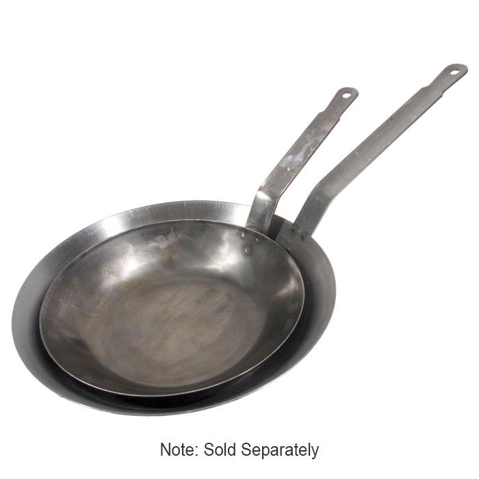 "Town 34809 9"" Stainless Steel Frying Pan w/ Solid Metal Handle"