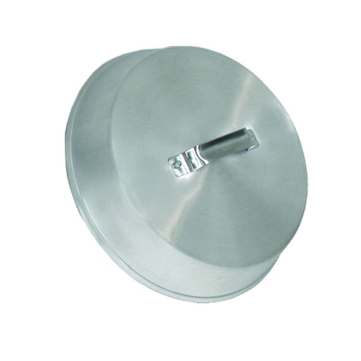 Town Foodservice Equipment 34914 14-1/4 in Diameter Wok Cover Riveted Handle Fits 16-18 in Wok Aluminum Restaurant Supply