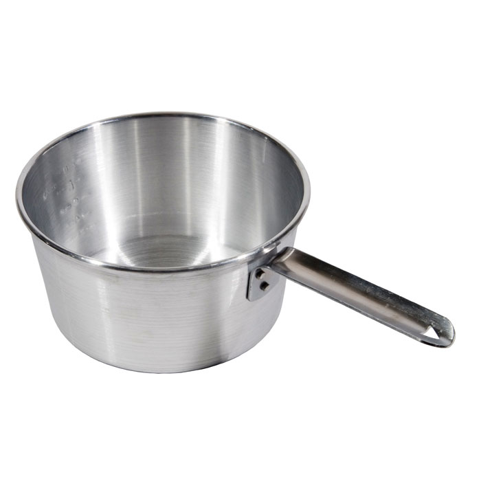 Town 35402 2-qt Aluminum Saucepan w/ Solid Metal Handle
