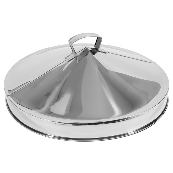 "Town 36618 18""Dim Sum Steamer Cover, Domed, Stainless"
