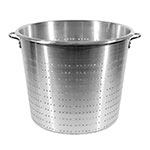 Town 38013 36 qt Vegetable Colander, Large Riveted Handles, Aluminum