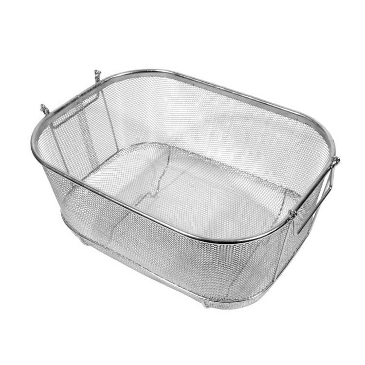 Town 42950 Bar Sink Strainer Basket w/ Handles & Feet, 9-1/2 X 14 X 5-1/2""