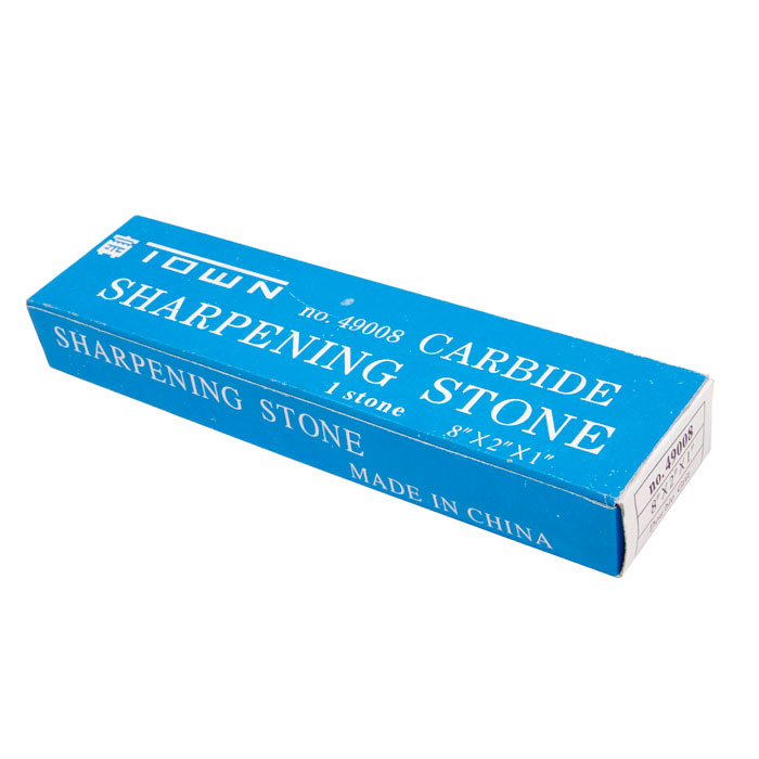 """Town 49008 8 X 2""""Double Sided Sharpening Stone, Fine/Coarse, Silicon Carbide"""