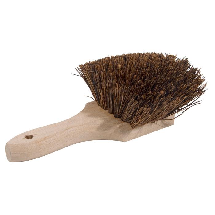 "Town 53181 9-1/2"" Standard Style Wok Brush, 5 x 5"" Brush Face, Palmyra"