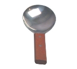 Town Food Service 22810 Stainless Rice Paddle, Wooden Handle, 9-1/4 in