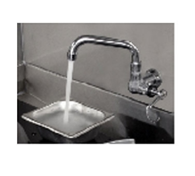 Town Food Service 229004/6 Manual Faucet, 6 in Spout, 2-5/8 in Shank, Wrist Handle, 8-5/8 in Overall