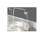 Town Food Service 229008 Pedestal Only, For Low Profile Ranges, Add Faucet