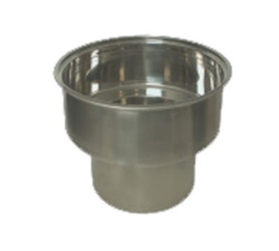 Town Food Service 229018SP 44 qt Stainless Rangetop Stock Pot, Fits 18 in Chamber, NSF