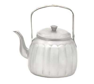 Town 24148 48-oz Stainless Teapot w/ Gooseneck Spout, Pivot Handle With Knob