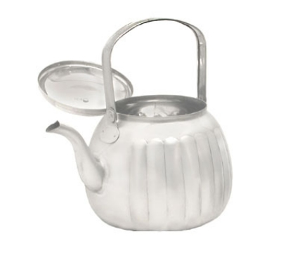 Town Food Service 24174 74-oz Stainless Teapot w/ Gooseneck Spout, Pivot Handle With Knob