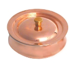 Town 25262 20 oz Stew Pot, With Cover Round, Copper Exterior, Stainless Interior