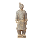 Town 28252 Xian Foot Soldier Statue, Terra-Cotta, 19 in