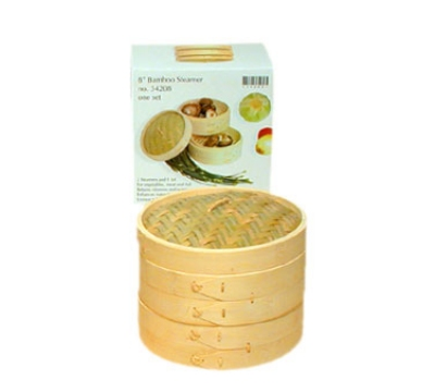 Town 34208C Bamboo Steamer Cover, 8 in