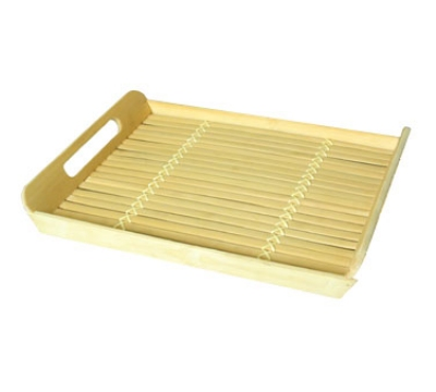Town Food 34237 Rectangle Serving Tray With Built In Handle Restaurant Supply