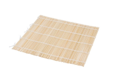 Town Food Service 34256 Natural Bamboo Sushi Mat, 9-1/2 X 9-1/2 in