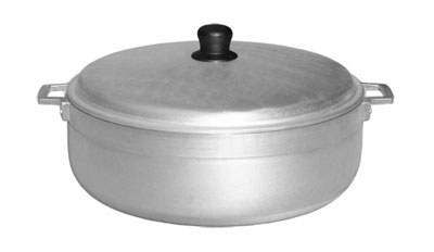 Town Food Service 34311 11.3 qt Aluminum Caldero, With Lid
