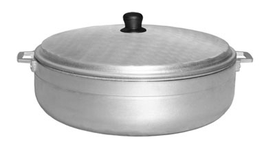 Town Food 34318 18.5 qt Aluminum Caldero With Lid Restaurant Supply
