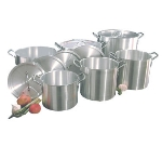 Town 34632 Aluminum Stock Pot Set, 12 Piece: 8, 12, 16, 18, 24, 36-qt