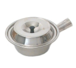 Town Food Service 34752 32 oz Stainless Sauce Pan, With Lid, 7-1/4 in 34752