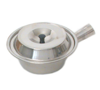 Town Food 34752 32 oz Stainless Sauce Pan With Lid 7-1/4 in Restaurant Supply